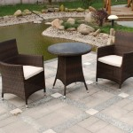 Rattan Garden Chairs and Coffee Table