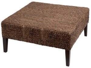Rattan Ottoman Coffee Table