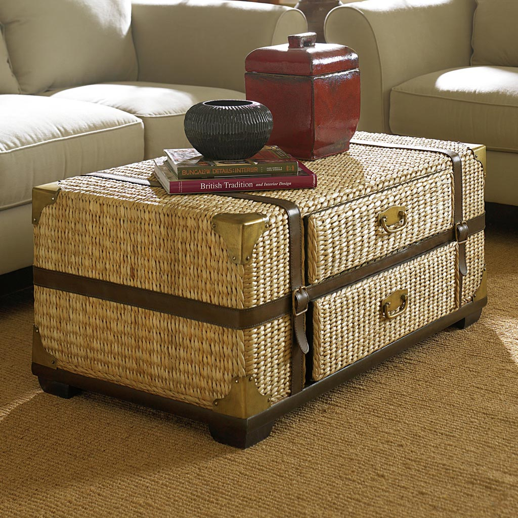 Rattan Trunk Coffee Table Coffee Table Design Ideas