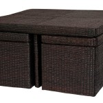 Rattan Wicker Coffee Table