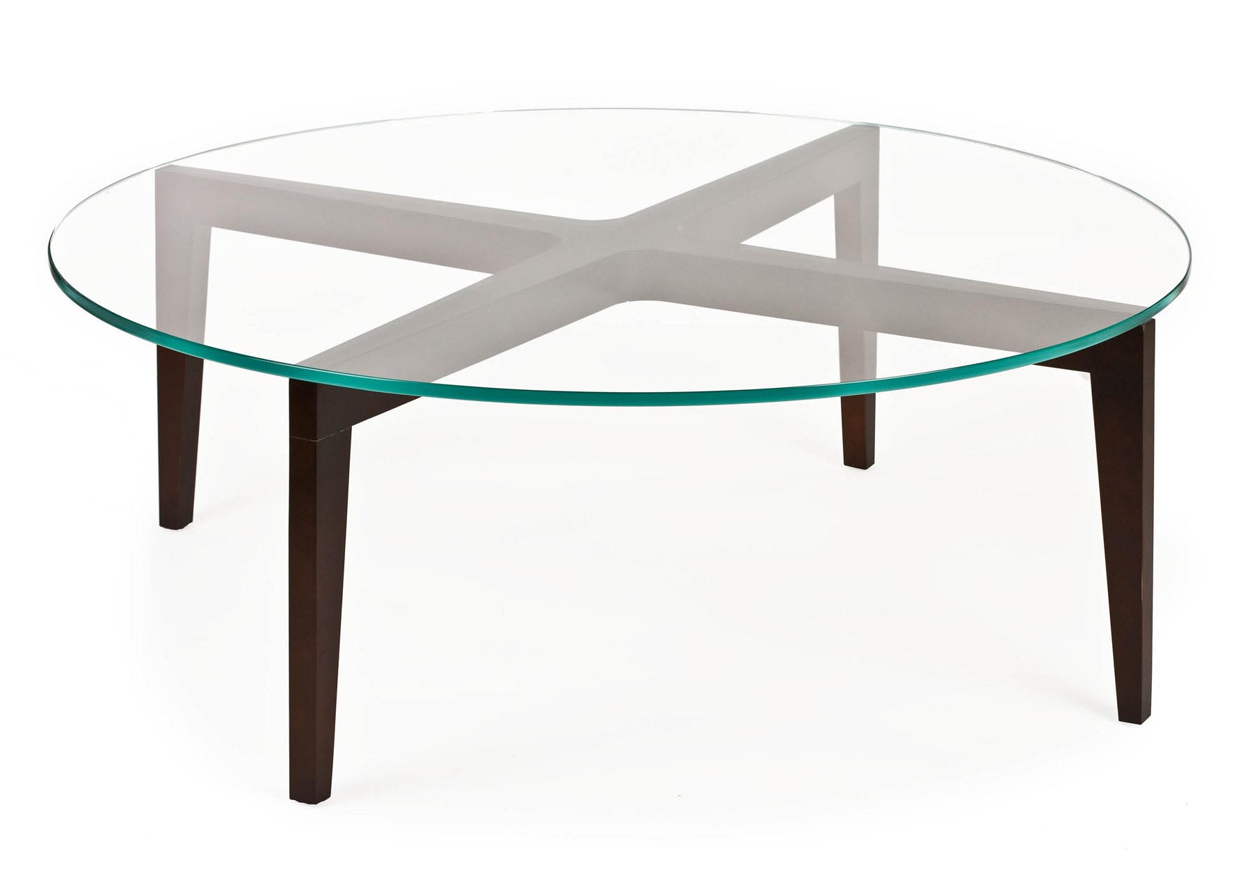 Round coffee table base coffee table design ideas Glass coffee table base