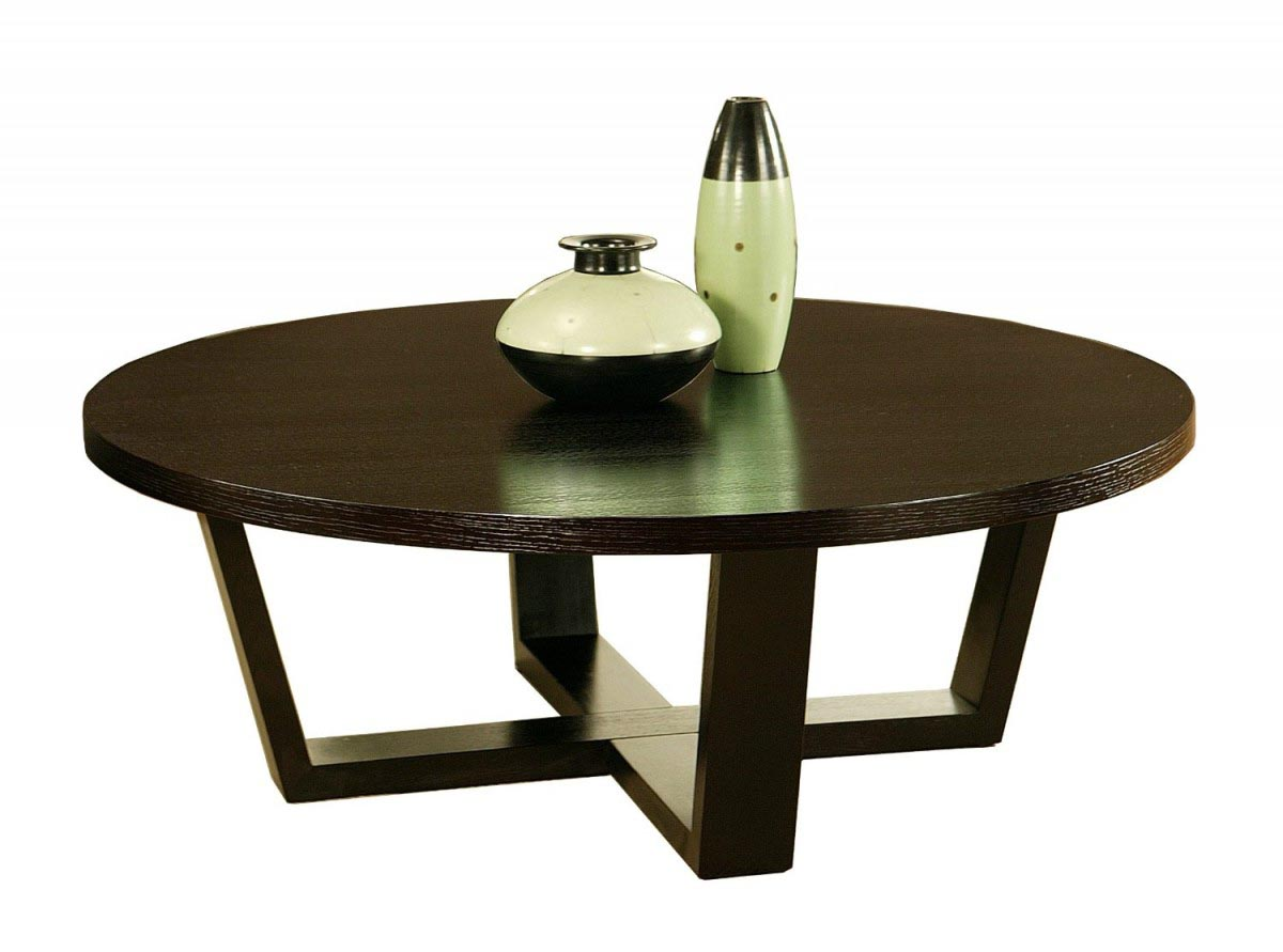 Round coffee table modern coffee table design ideas for Modern end table ideas