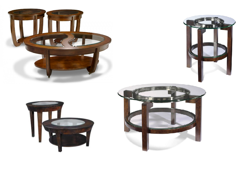 Round coffee table sets coffee table design ideas for Round coffee table sets
