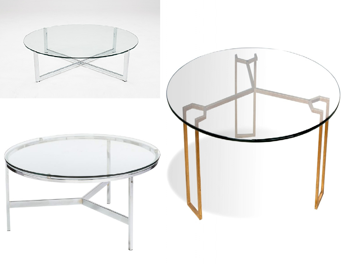 Round glass coffee tables coffee table design ideas for Coffee table decorations glass table