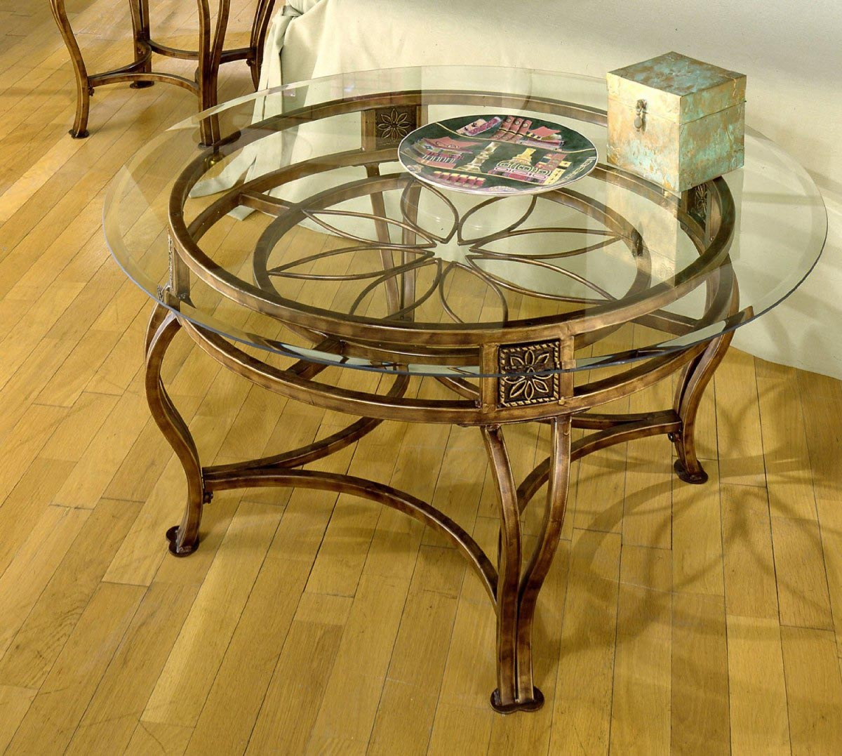 Round Glass Top Coffee Table With Metal Base Coffee Table Design Ideas
