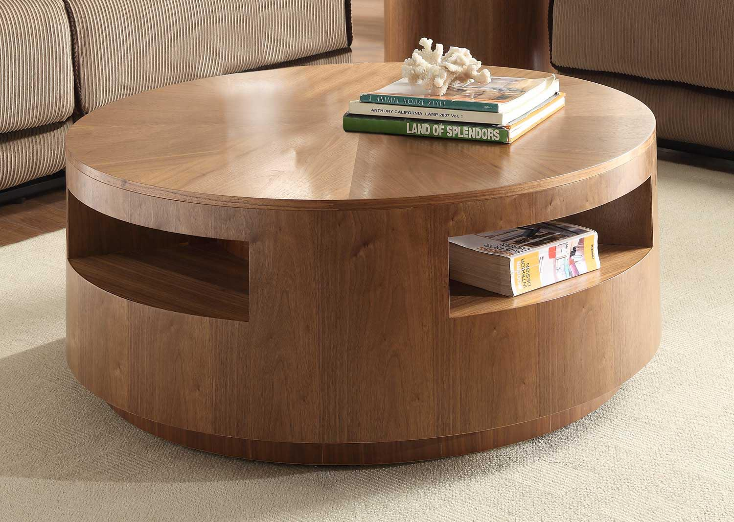 Round Oak Coffee Table Coffee Table Design Ideas