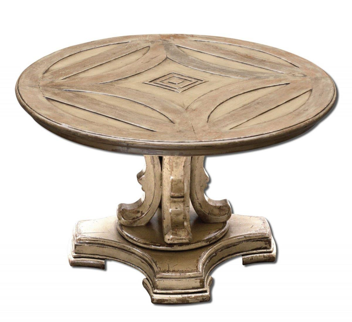 Round pedestal coffee table coffee table design ideas for Perfect round pedestal coffee table ideas