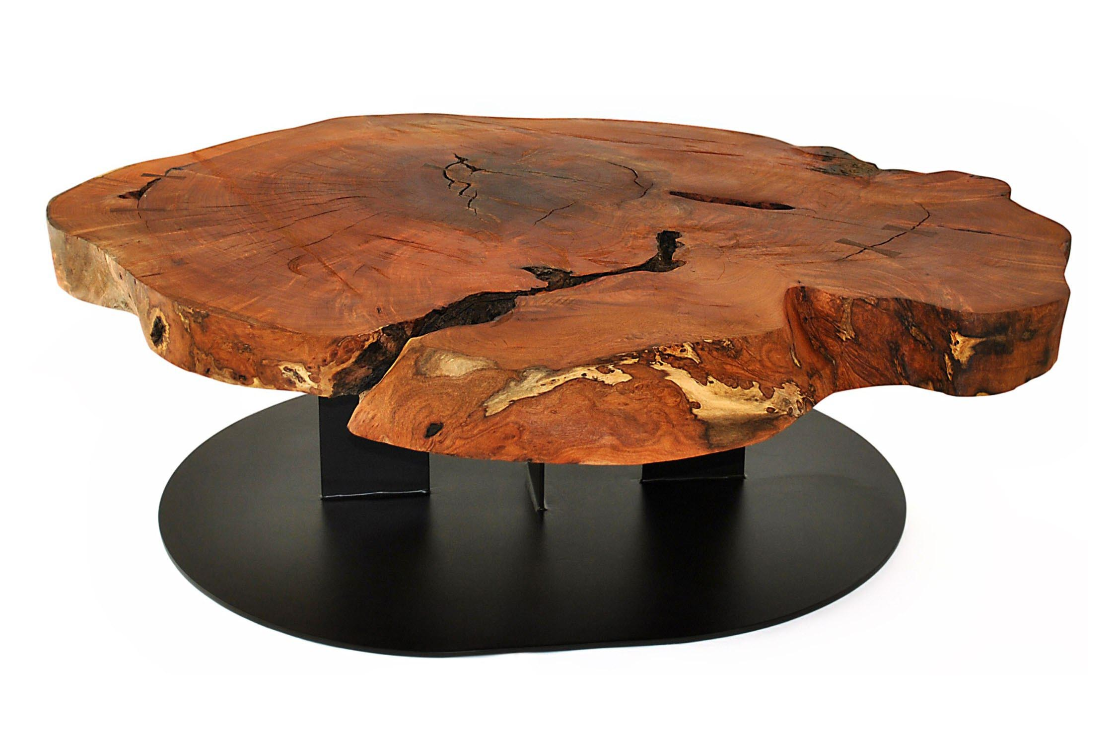 Harmonious wood slab coffee table coffee table design ideas for Wood slab coffee table