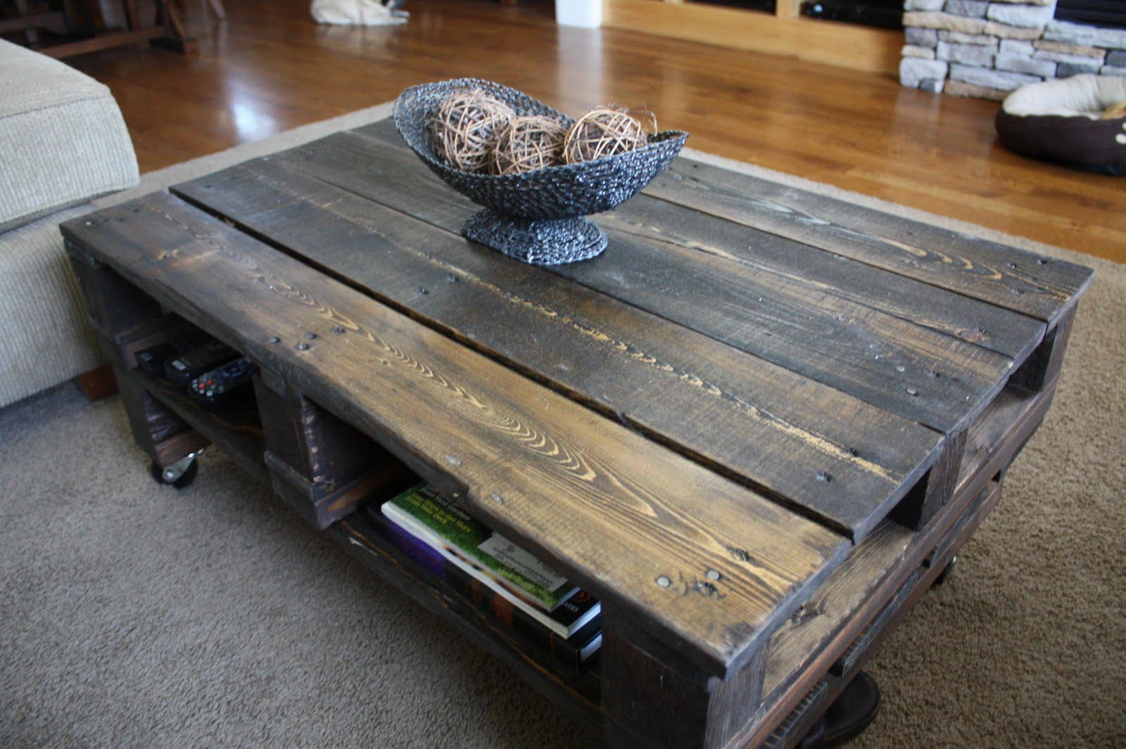 Rustic Wood Coffee Table With Wheels Coffee Table Design Ideas