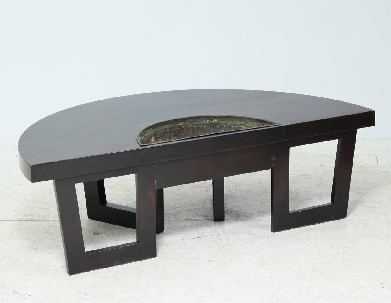 Semi Circle Coffee Table