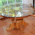 Ships Wheel Coffee Table
