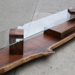 Skinny Glass Coffee Table