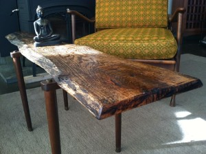 Slab of Wood Coffee Table