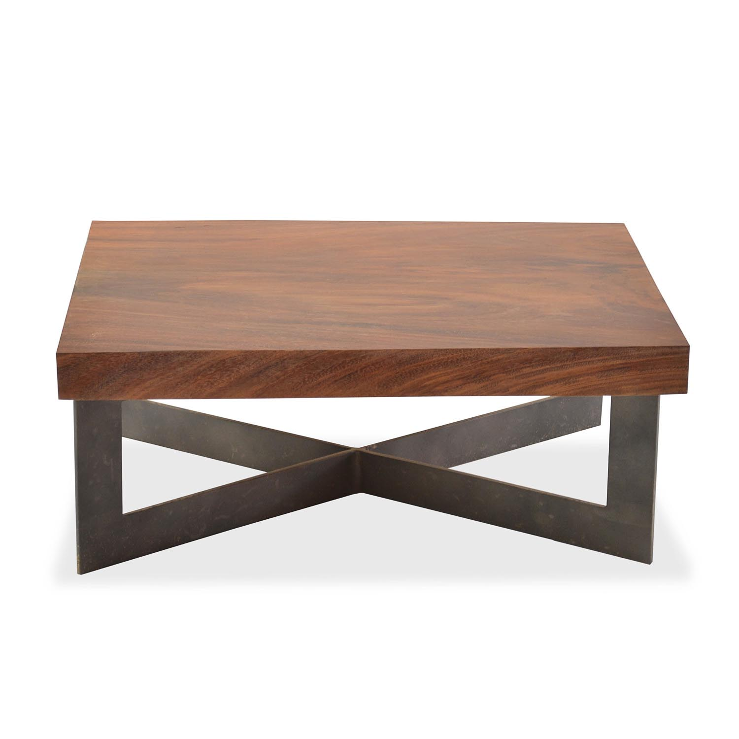 Solid wood slab coffee table coffee table design ideas for Oak slab coffee table