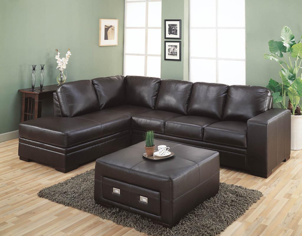 Square leather coffee table coffee table design ideas Square leather coffee table