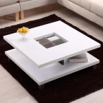 Square Modern Coffee Table
