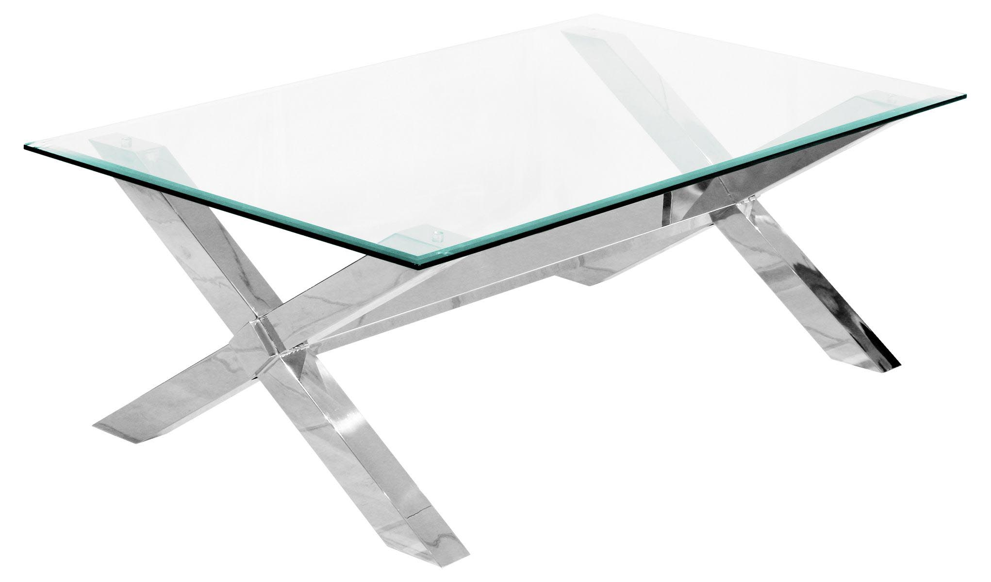 Stainless steel and glass coffee table coffee table design ideas Steel and glass coffee table