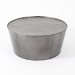 Steel Drum Coffee Table