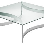 Steel Glass Coffee Table