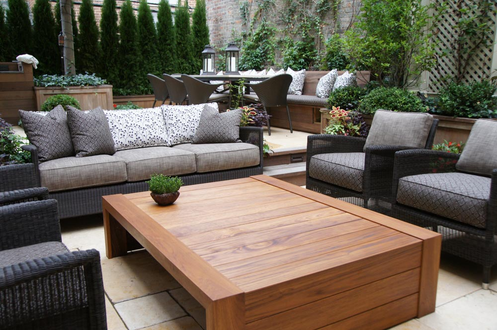 Teak Coffee Table Is Appreciated By Lovers Of Eco Friendly Materials Coffee Table Design Ideas