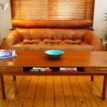 Teak Coffee Table with Storage