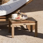 Teak Garden Coffee Table