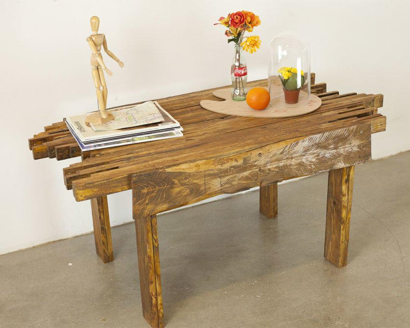 The Block Log Coffee Table