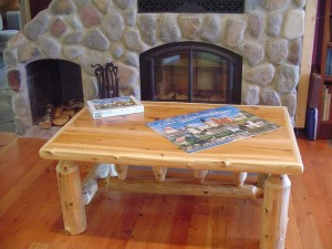 ... Tree Log Coffee Table ...