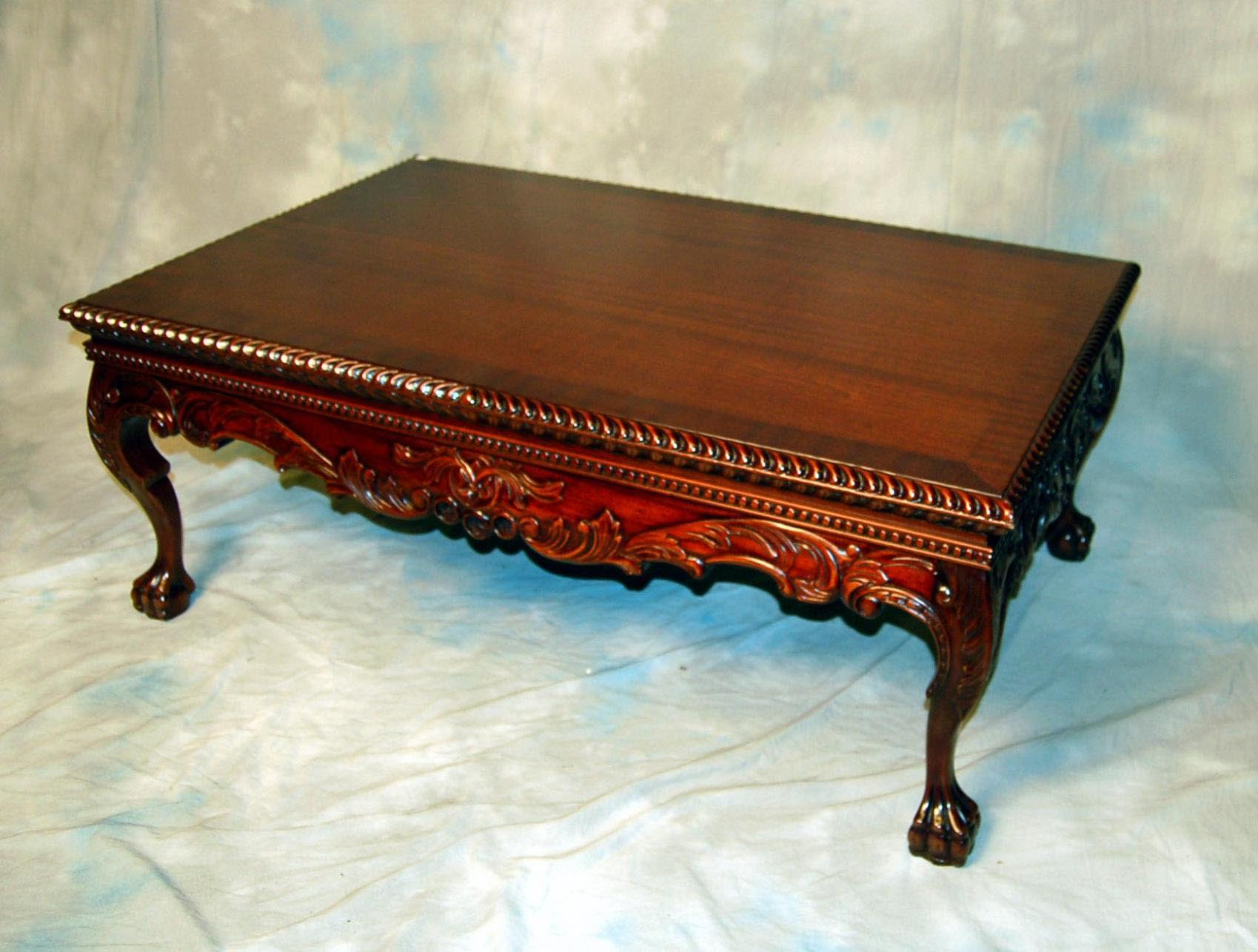 Vintage mahogany coffee table coffee table design ideas for Vintage coffee table
