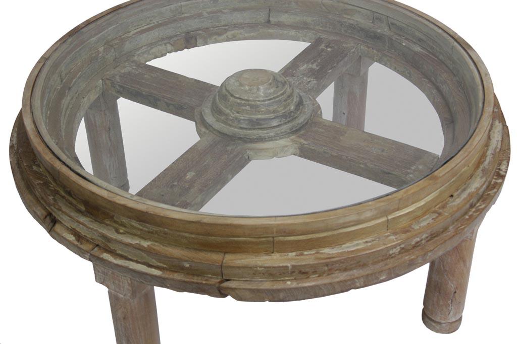 Wagon Wheel Coffee Tables