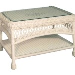 Wicker Rattan Coffee Tables