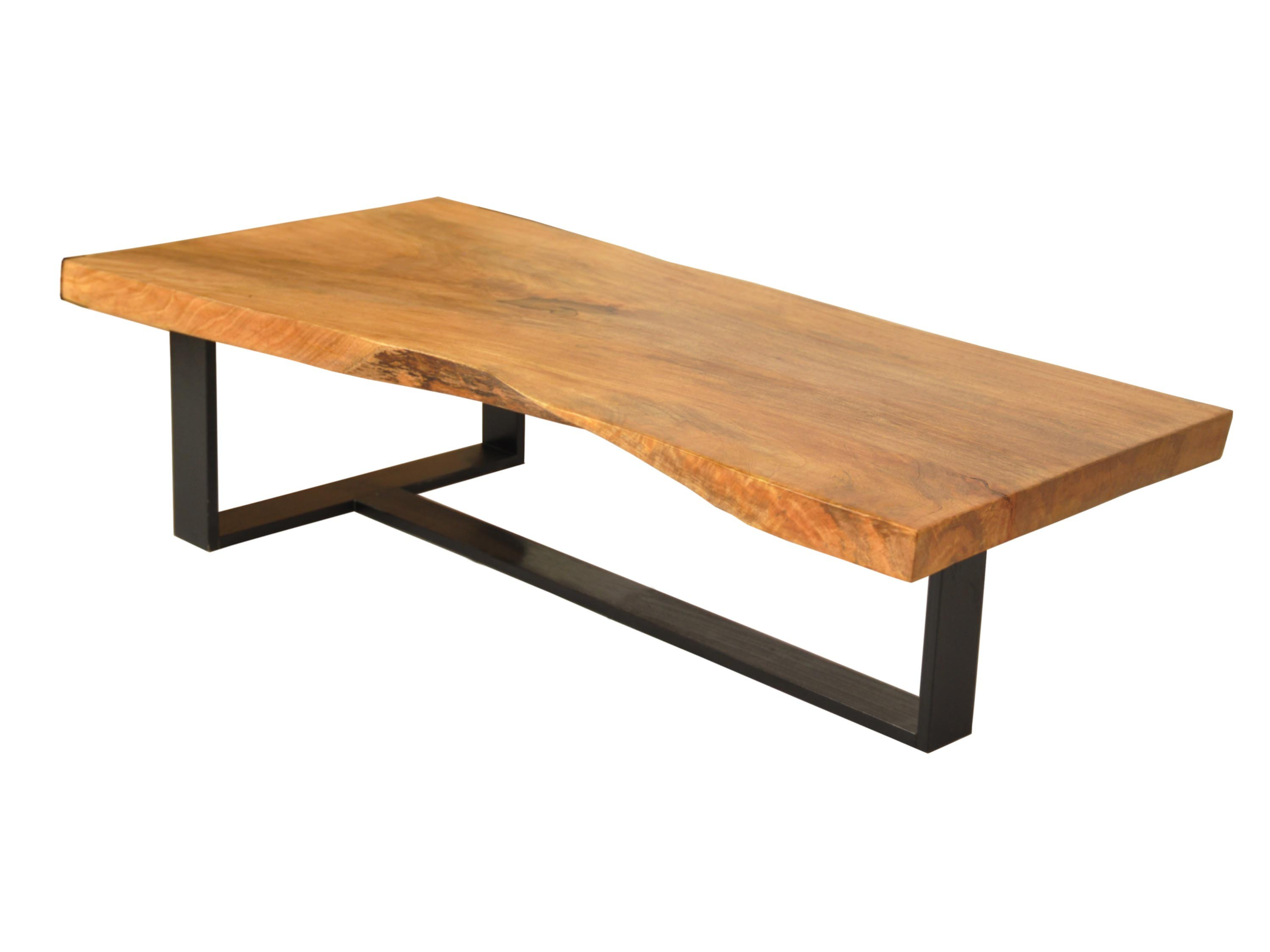 Wood And Steel Coffee Tables