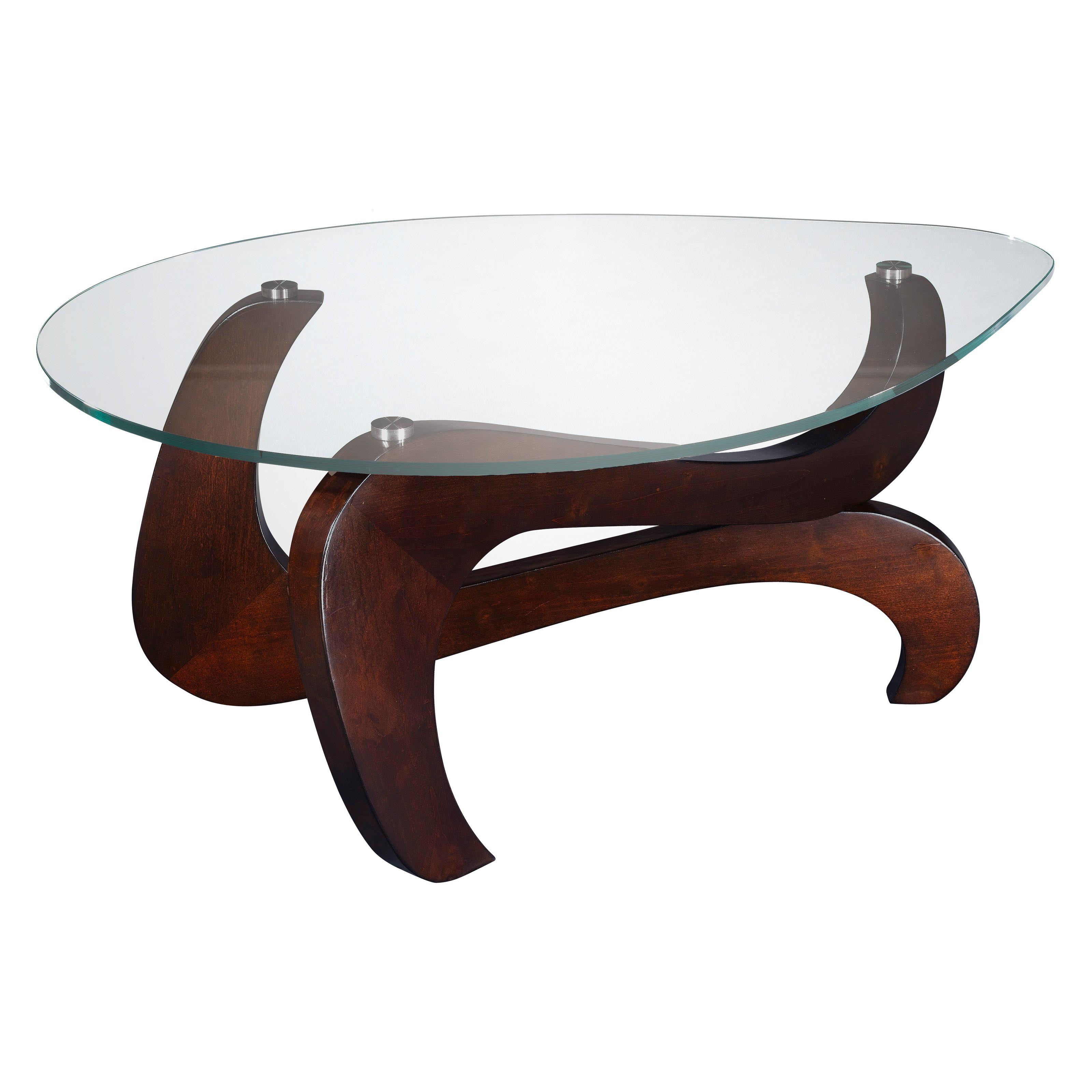 Wood base glass top coffee table coffee table design ideas Wood coffee table glass top