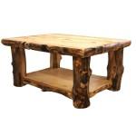 Wood Log Coffee Table