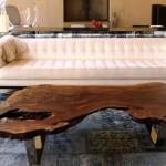 Wood Slab Coffee Table DIY