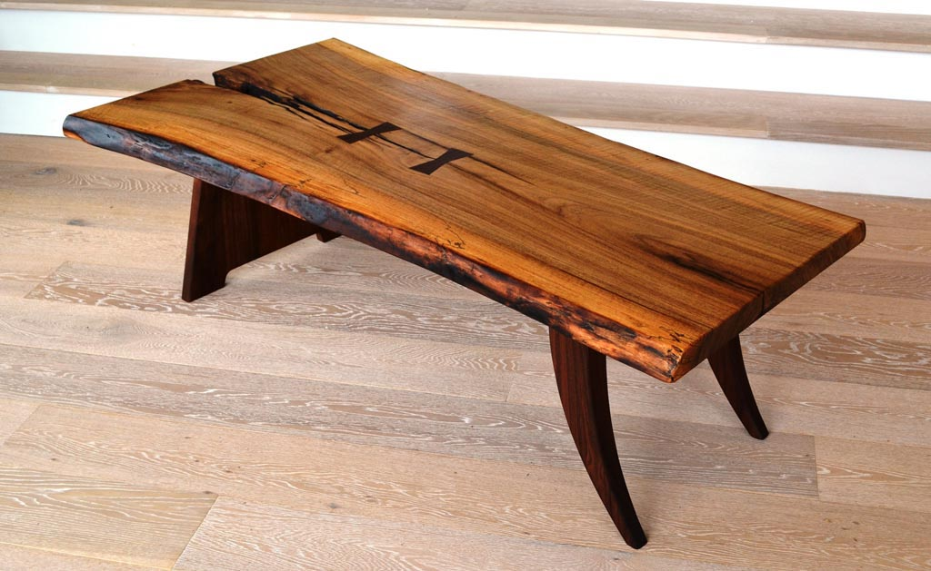 Wood slab coffee table plans coffee table design ideas for Wood slab coffee table