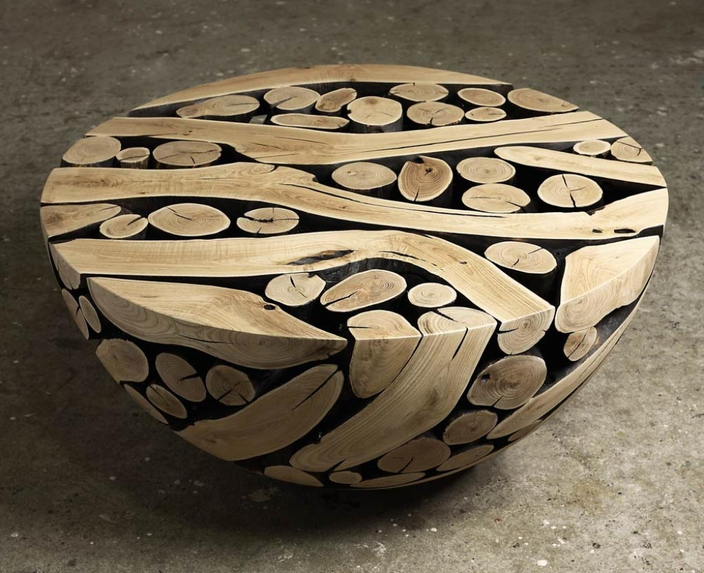 Wooden Log Coffee Tables