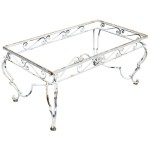 Wrought Iron Coffee Table Patio